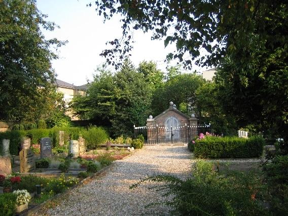 begraafplaats pad